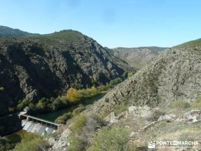 Presa de la Parra - Atazar - Meandros Río Lozoya - Pontón de la Oliva - Senda del Genaro;viajes ac